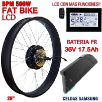 KIT FAT BIKE BPM-CST 500W BATERIA FR 17.5Ah