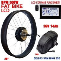 KIT FAT BIKE BPM-CST 500W BATERIA BBS 14Ah