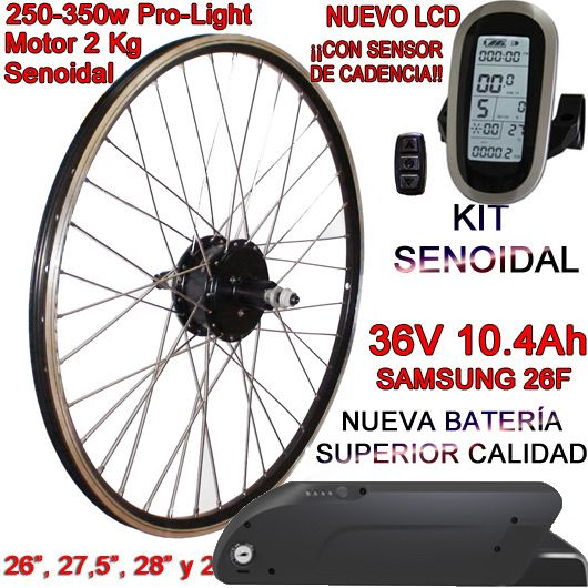 KIT PRO-LIGHT 250-350W CST LCD6 INTEGRA FR4 10.4Ah