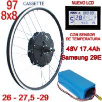 KIT NINE CONTINENT LCD CST ST 97-8x8 BATERIA 48V17.4Ah