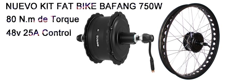 NUEVO KIT BAFANG FAT BIKE 750W
